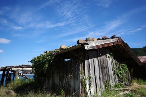 卯敷の船小屋