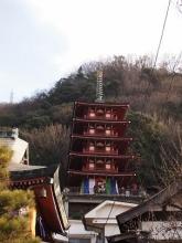 萬願寺五重塔1