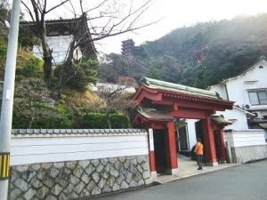 萬願寺入り口