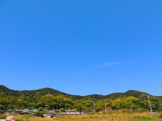 萌葱の山々