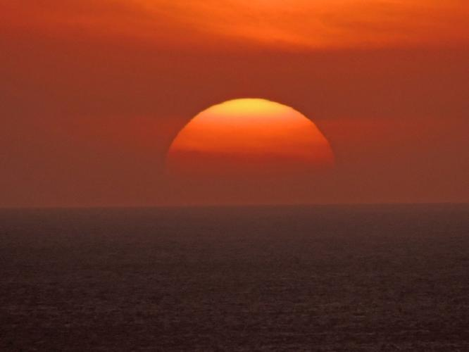 沈む夕陽 2