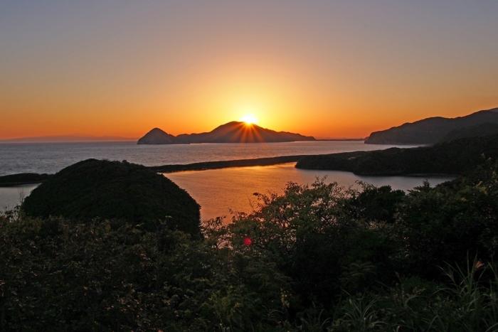 朝陽 長目の浜