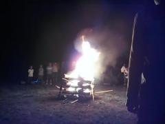 20130803 キャンプファイヤー