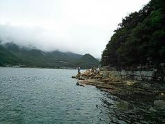 20130907 小豆島磯 前西さん2
