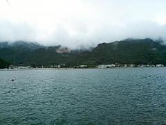 20130907 小豆島磯から小豆島を見て・・・