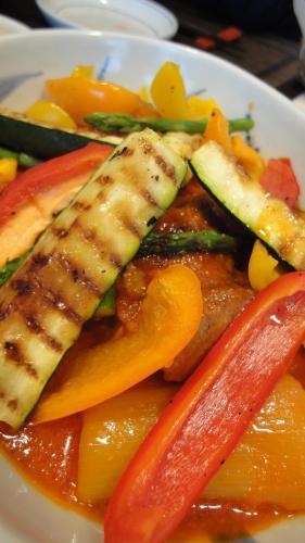 野菜のグリル!