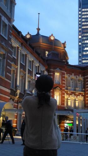 東京駅と私!