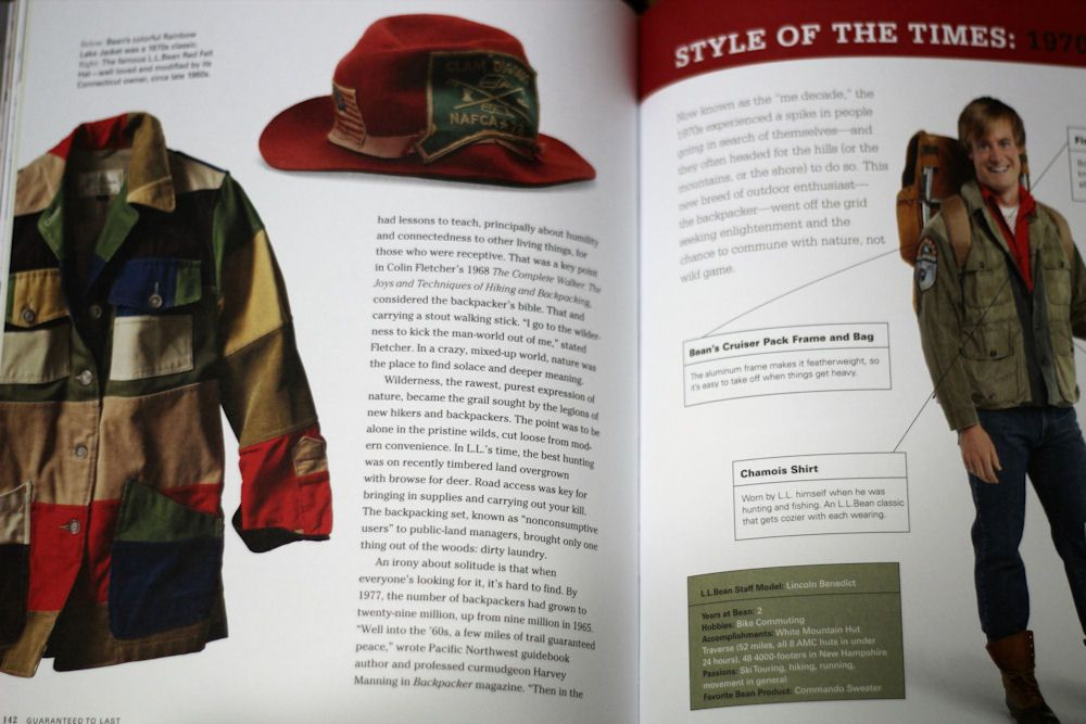 L.L.Bean 100周年/GUARANTEED to LAST: