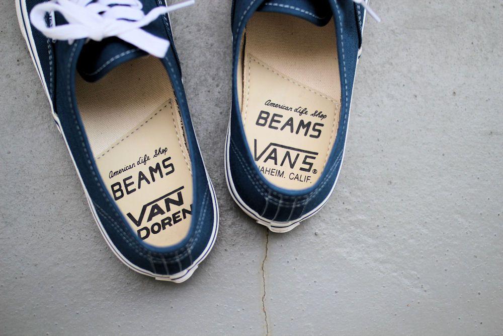 VANS×BEAMS