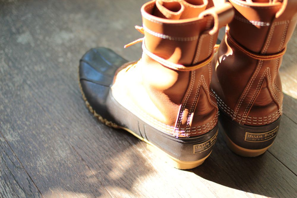 L.L.Bean Bean Boots 10