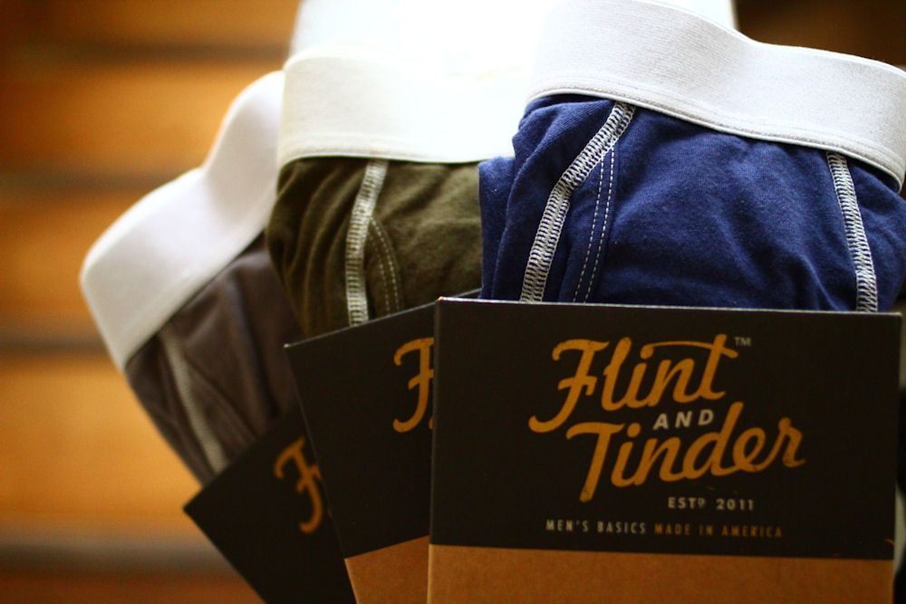 Flint And Tinder Underwear/Made In USAなアンダーウェア