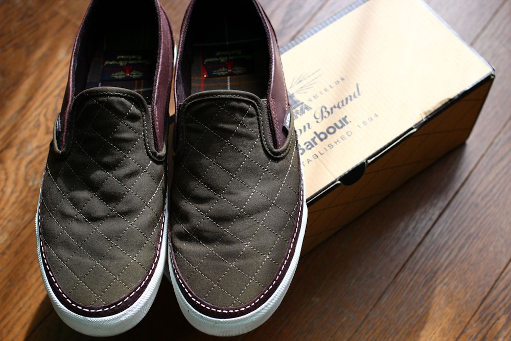 Vans x Barbour 2012AW Capsule collection