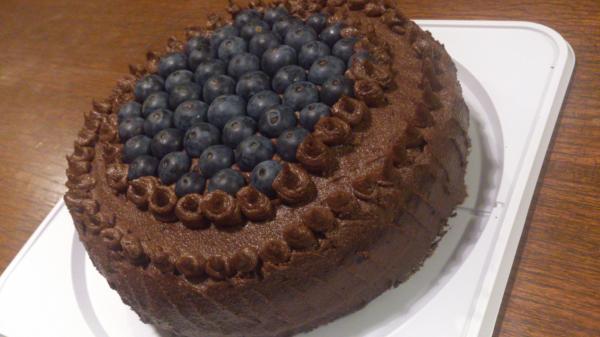 ローチョコクリームケーキ