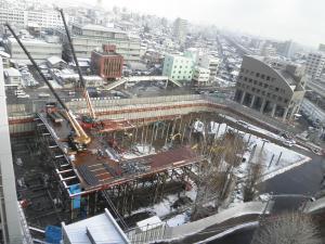 市民会館建設状況