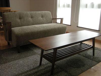 ソファーとセンターテーブル