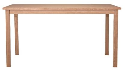タモ無垢材テーブル