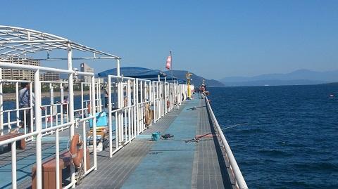 鹿児島海釣り公園釣り座
