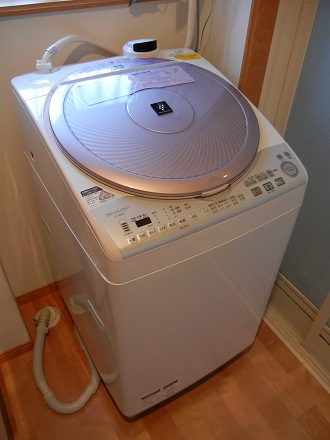 SHARP自動洗濯乾燥機