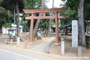 駒留八幡宮(世田谷区上馬)1