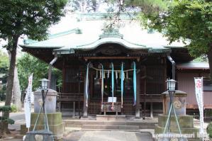 駒留八幡宮(世田谷区上馬)7