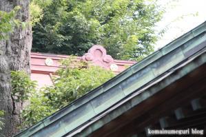 駒留八幡宮(世田谷区上馬)11