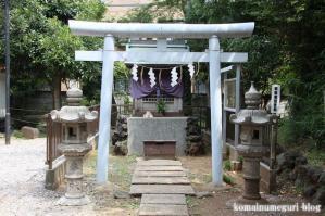 駒留八幡宮(世田谷区上馬)15