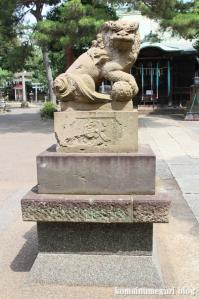 駒留八幡宮(世田谷区上馬)29