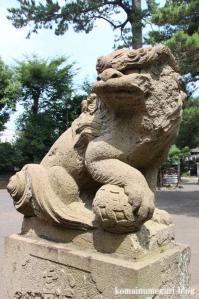 駒留八幡宮(世田谷区上馬)30