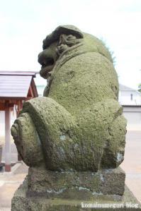 駒留八幡宮(世田谷区上馬)28