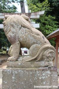 駒留八幡宮(世田谷区上馬)31