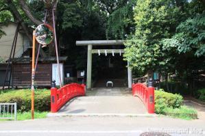 駒繋神社(世田谷区下馬)1