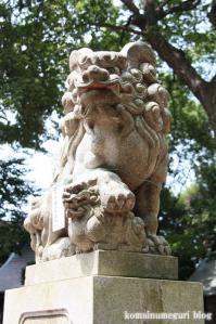 駒繋神社(世田谷区下馬)7