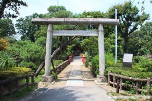 厳島神社(目黒区碑文谷)1