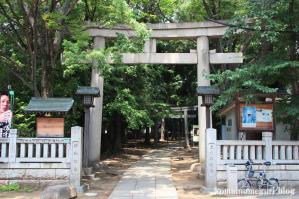 八雲氷川神社(目黒区八雲)1