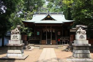 八雲氷川神社(目黒区八雲)11