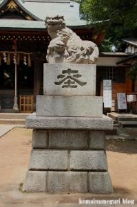 八雲氷川神社(目黒区八雲)16