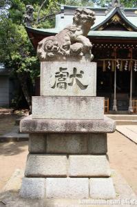 八雲氷川神社(目黒区八雲)21