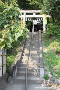 聖神社(埼玉県秩父市黒谷字菅仁田)4