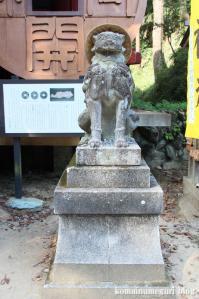 聖神社(埼玉県秩父市黒谷字菅仁田)14