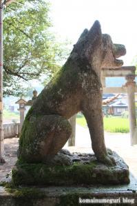 白山神社(岐阜県飛騨市古川町中野)9