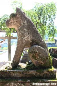 白山神社(岐阜県飛騨市古川町中野)13