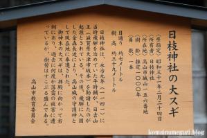 日枝神社(岐阜県)高山市城山30
