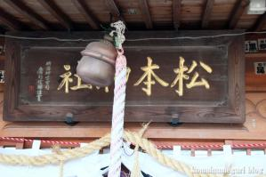 松本神社(長野県松本市開智)21