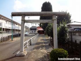 稲荷神社(府中市本宿町)4