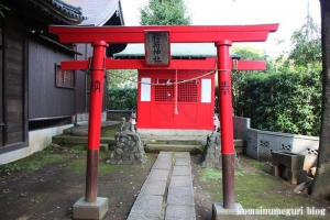 蓮沼氷川神社(板橋区蓮沼町)8