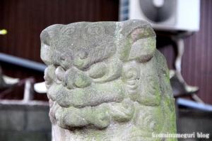 蓮沼氷川神社(板橋区蓮沼町)24