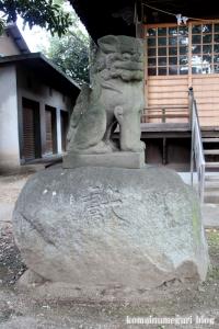 蓮沼氷川神社(板橋区蓮沼町)19