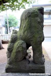 蓮沼氷川神社(板橋区蓮沼町)17