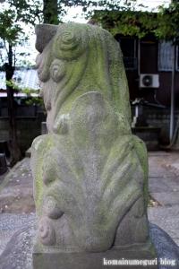 蓮沼氷川神社(板橋区蓮沼町)18