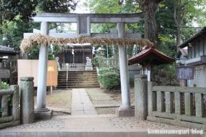 小豆沢神社(板橋区小豆沢)4
